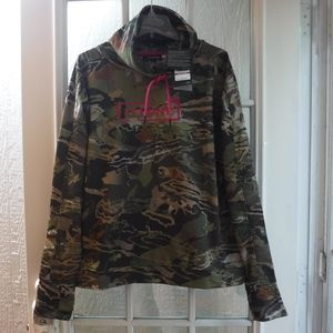 Under Armour Hunt Forest Camo Sweatshirt~NWT~